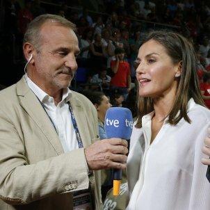 leticia entrevista tve copa basquet femení  EFE