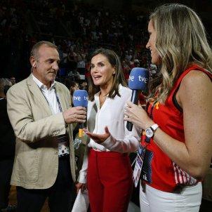 leticia entrevistada tve EFE
