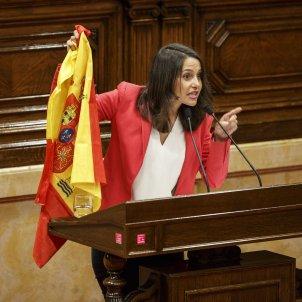 Ines Arrimadas CIutadans Bandera espanyola Sergi Alcazar47