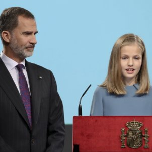 princesa elionor primer discurs  EFE