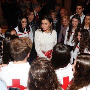 leticia creu roja casa reial