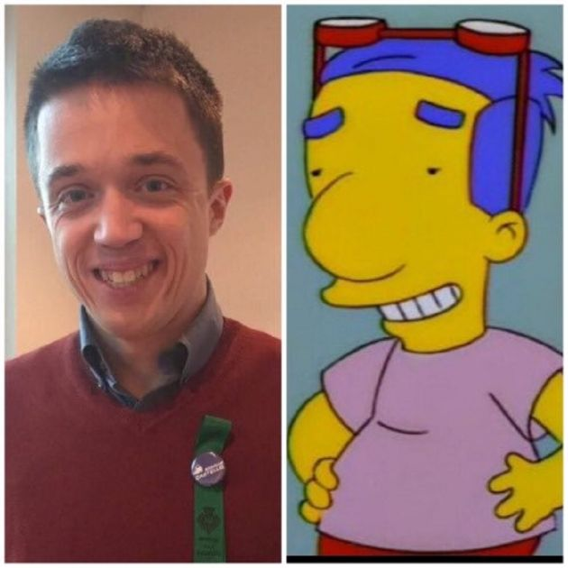 errejon simpsons   twitter @johnnymalony