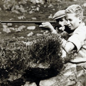 rei joan carles de caçant gtres
