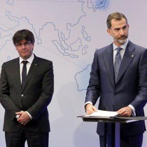 Puigdemont rei Felip GTRES