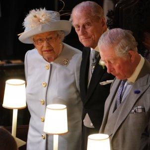 reina elisabet II marit i fill GTRES