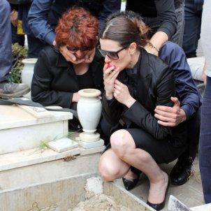 Raquel Sanchez Silva funeral mario biondo GTRES