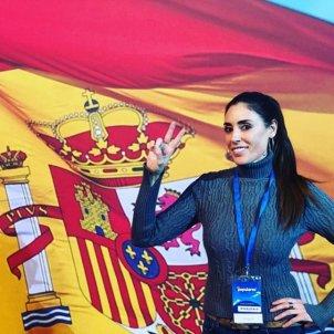 isabel rabago bandera espanya instagram