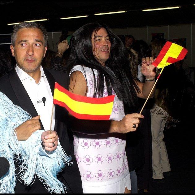 xavier sarda carlos latre boris izaguirre banderes espanyoles gtres
