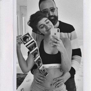 laura escanes risto mejide embarassada instagram ecografies