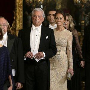Isabel Preysler Mario Vargas Llosa recepcio   GTRES