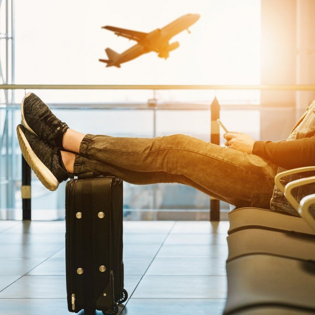mida maleta equipatge de ma