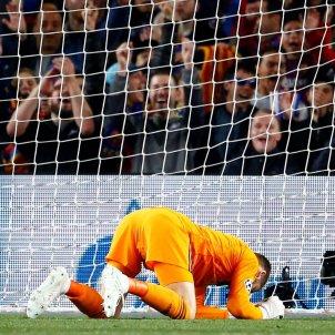 David De Gea gol Barça Manhcester United Champions EFE