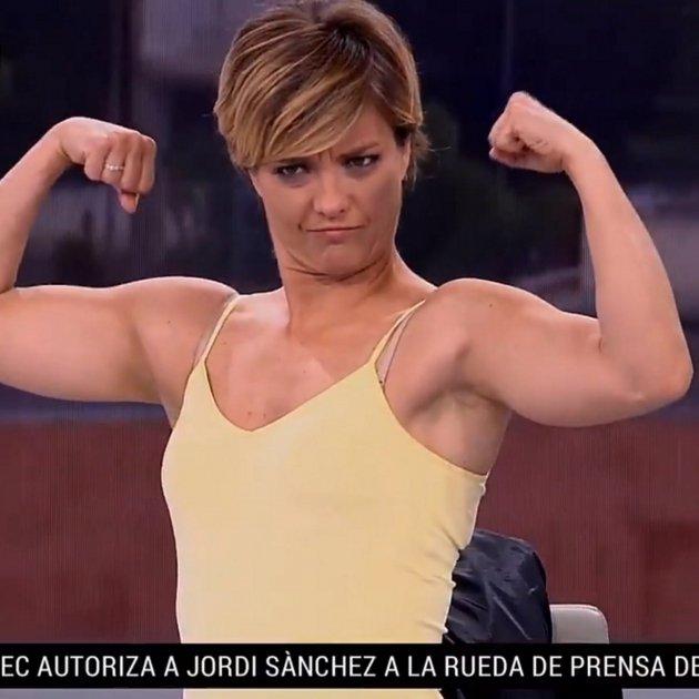 maria casado musculs tve
