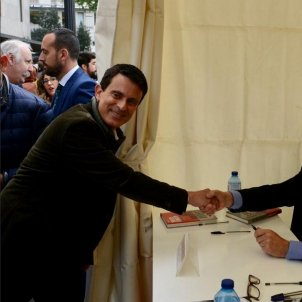 Manuel Valls Alfonso Guerra Sant Jordi   @manuelvalls