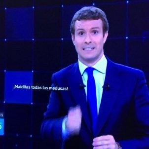 Pablo Casado debat NEtflix   @bunsopaco
