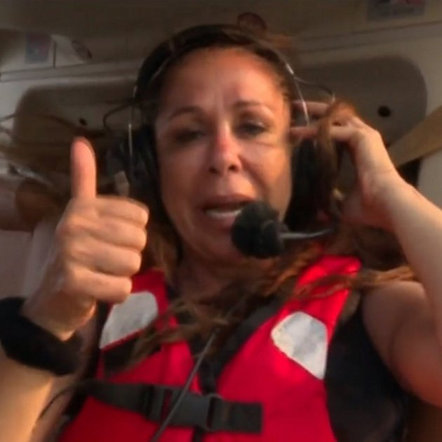isabel pantoja helicopter gest ok supervivientes