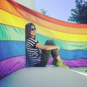 sandra barneda bandera gay lgtbi instagram