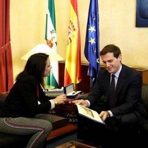 albert rivera marta bosquet presidenta parlament andalusia instagram