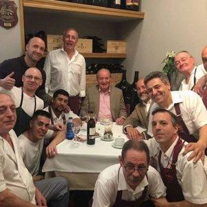 Juan Carlos I dinar @restaurantedelariva