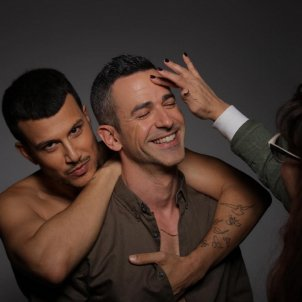 presentador eurovisio i marit maquillatge