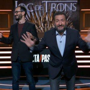 Toni Soler joc de trons TV3