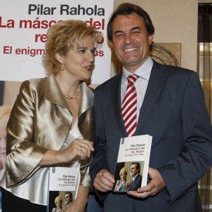 Pilar Rahola Artur Mas presentació llibre La máscara del Rey Arturo EFE