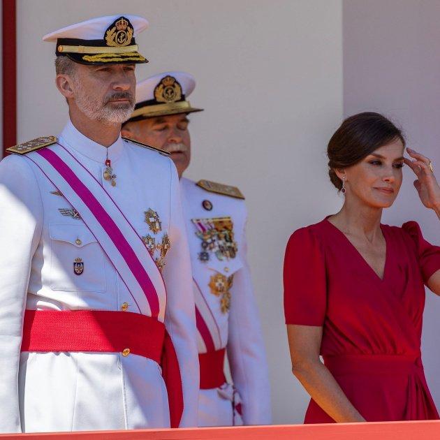 Felipe Letizia Bandera EFE