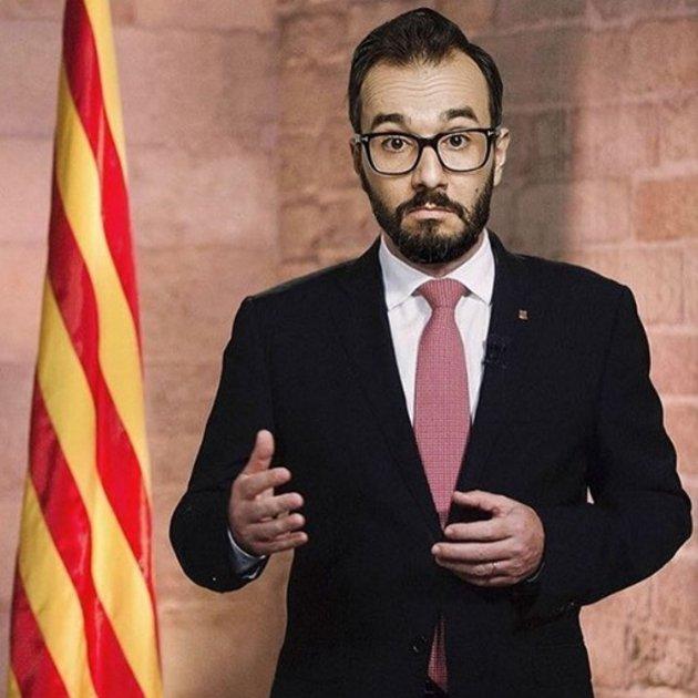 jair dominguez senyera bandera catalunya instagram