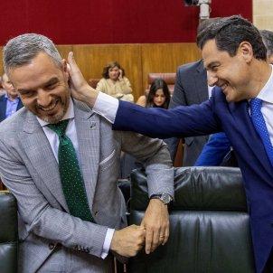 PP Cs VOX Andalusia EFE