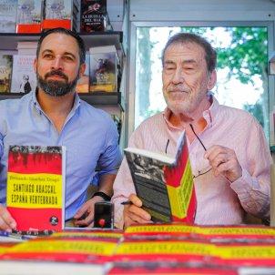 Abascal Dragó Feria Libro EFE