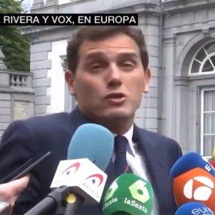 Albert Rivera decla Brussel·les La Sexta