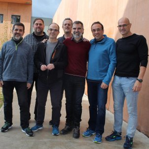 presos politics Lledoners 01 12 2018 Omnium Cultural ACN