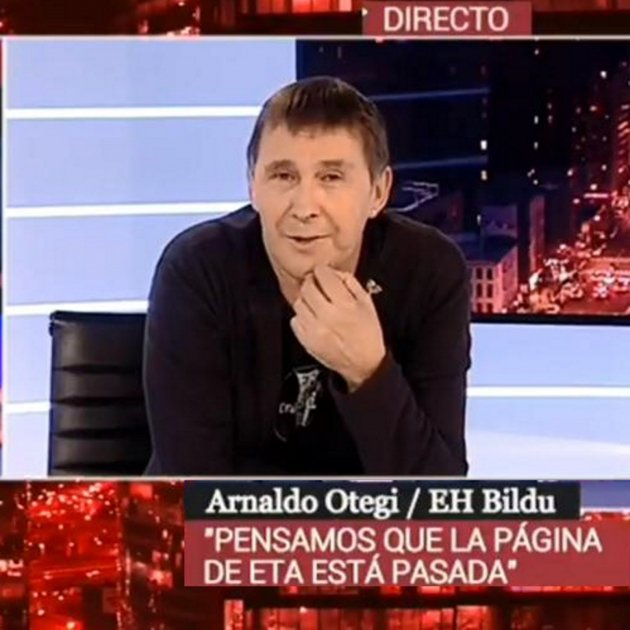 Arnaldo Otegi Canal 24h RTVE