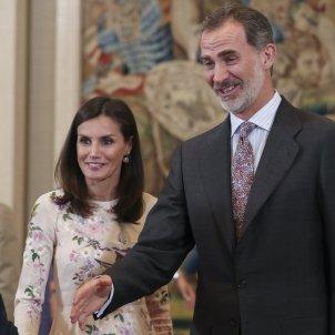 Felipe VI Letizia recepcion GTRES