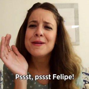 Gloria Santiago video a Felip @gloriasantiagogoc