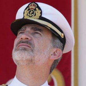 Felipe VI militar cara fàstic GTRES