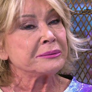 Mila Ximenez plora Salvame Telecinco