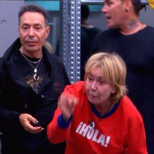 Mila Ximenez bronca Hugo Castejon  general GH VIP
