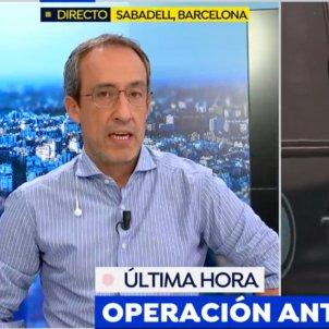 Alfonso Egea Operacié policial CDR bombes Espejo Público Antena 3