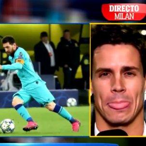 Edu Aguirre Messi @elchiringuitodemega