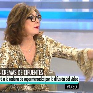 Ana Rosa Quintana cremes Cifuentes Telecinco