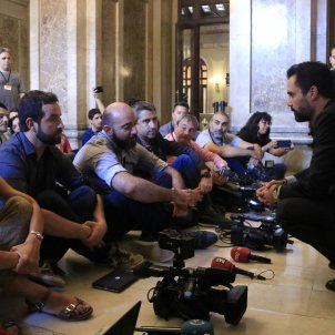 protesta periodistes catalans ACN