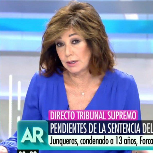 Ana Rosa curt Telecinco