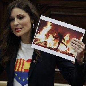 Lorena Roldán agressiva Parlament