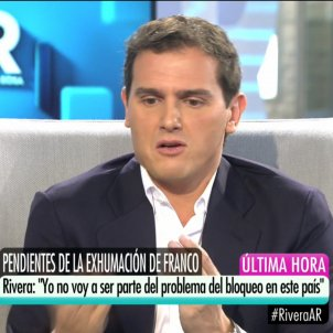 Albert Rivera Telecinco