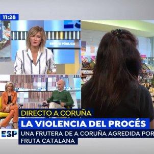 susanna griso fruitera galicia agressio catalanofobia espejo publico