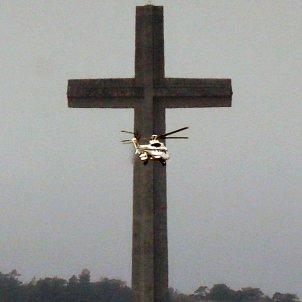Helicóptero Franco Valle EFE