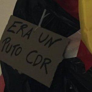 Halloween CDR gimnas Salamanca detall @KLinspector