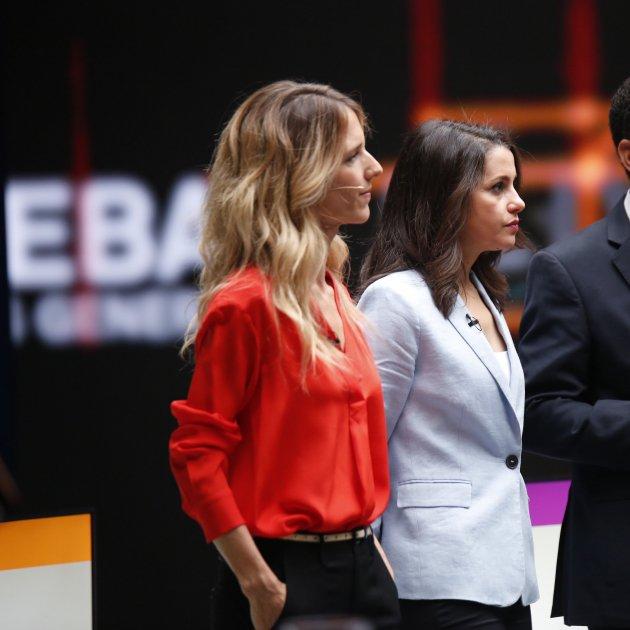 Debat candidats eleccions 10-N Cayetana Álvarez de Toledo Inés Arrimadas Ignacio Garriga - Sergi Alcàzar