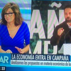 Ana Rosa Quintana sobre VOX Telecinco